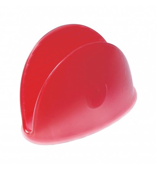 Silikonowa łapka do naczyń Pavoni czerwona - wysoka jakość / Btrzy