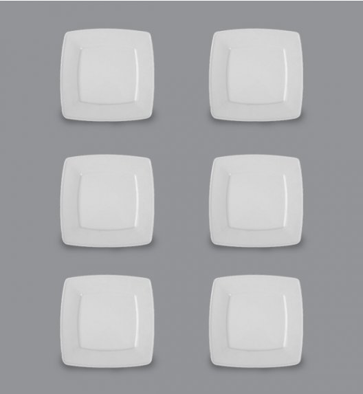 LUBIANA VICTORIA Komplet Talerze obiadowe 26 cm / 6 el / 6 os / porcelana