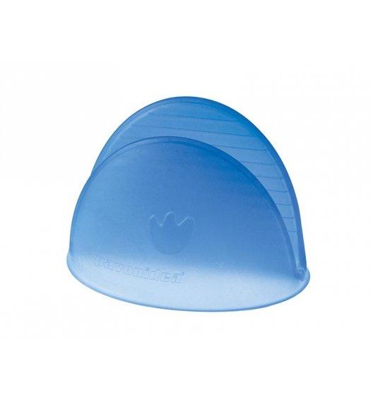 Silikonowa łapka do naczyń Pavoni niebieska - wysoka jakość / Btrzy