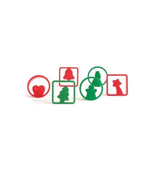 Foremki do wykrawania ciasteczek Pavoni Christmas motyw świąteczny 12 el -  wysoka jakość / Btrzy