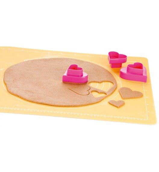 Foremki do wykrawania ciasteczek x 6 szt Tescoma Delicia serca.