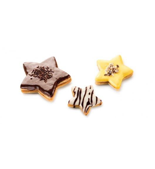 Foremki do wykrawania ciasteczek x 6 szt Tescoma Delicia gwiazdki.