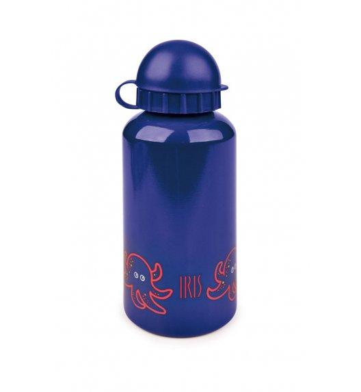 Butelka na napoje dla dzieci Iris w kolorze granatowym z ośmiorniczką 400 ml / Btrzy