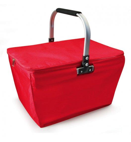 Kosz piknikowy/zakupowy z izolacją Iris Cesta w kolorze czerwonym / Btrzy