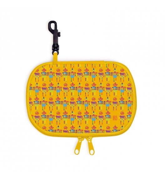 Opakowanie podłużne na kanapkę Snack Rico Iris w kolorze żółtym z motywem robotów  + GRATIS breloczek / Btrzy