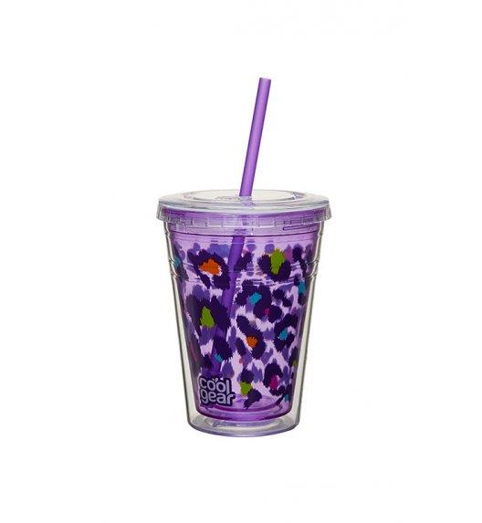 Cool Gear Kubek Chiller 425 ml z podwójną ścianką w kolorze fioletowym / Btrzy