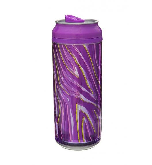 Cool Gear 473 ml Puszka z podwójną ścianką w kolorze fioletowym / Btrzy