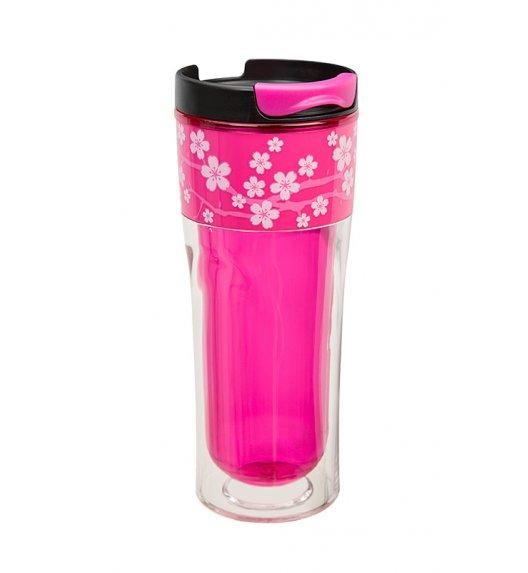 Cool Gear Termiczny kubek Razor 400 ml w kolorze różowym z motywem kwiatowym  / Btrzy