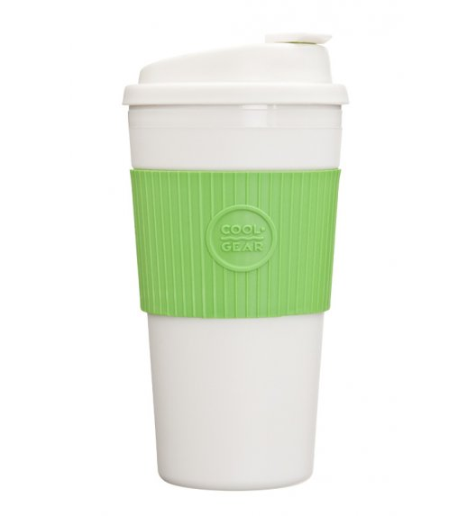Cool Gear Termiczny kubek 426 ml w kolorze biało-zielonym / Btrzy