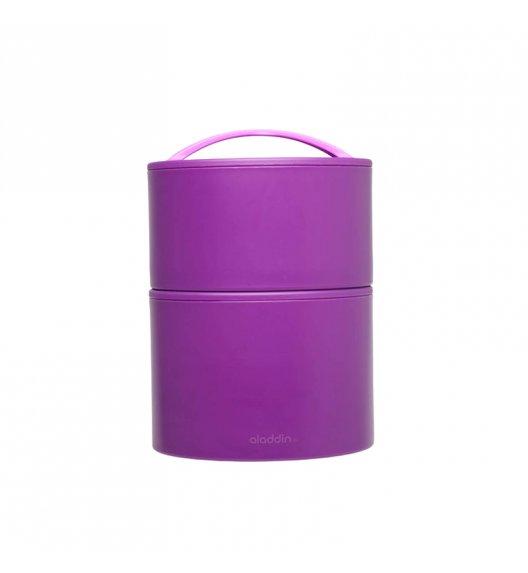 ALADDIN Podwójny pojemnik obiadowy BENTO 0,95 L fioletowy / FreeForp
