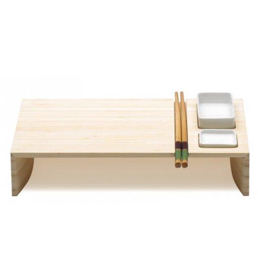 Legnoart Kobe Zestaw do sushi wykonany z drewna bambusowego. Btrzy.