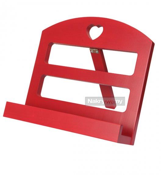 Gald stojak drewniany na książkę kucharską w kolorze claret. Polski produkt. NK 0188 / EAN 5901832921882.