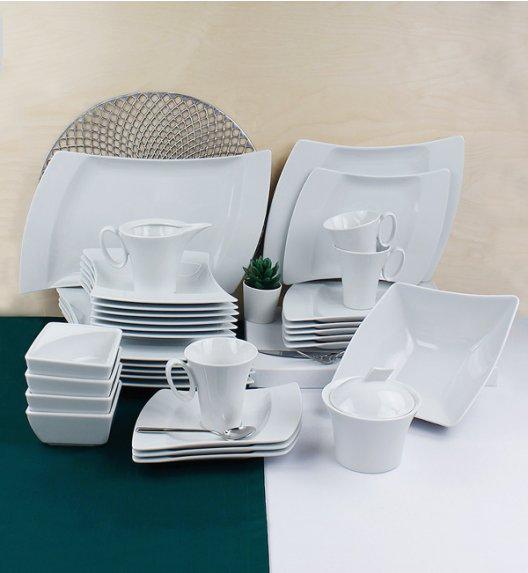 LUBIANA WING Serwis obiadowo-kawowy 38 el / 6 osób / porcelana + GRATIS! 49 ZŁ
