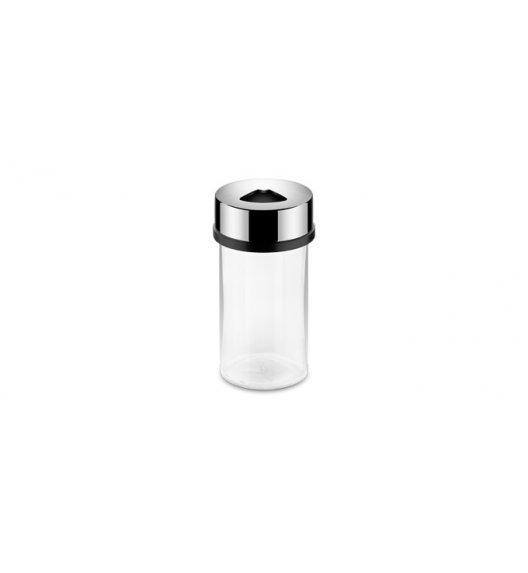 TESCOMA CLUB Uniwersalny pojemnik na przyprawy ze stali nierdzewnej i wytrzymałego szkła, 150 ml. 3 RODZAJE OTWORÓW