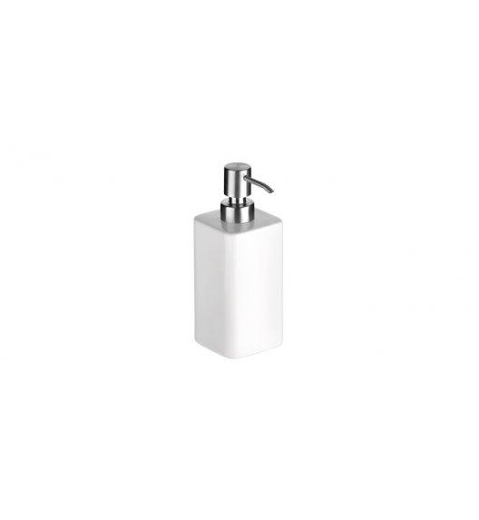 TESCOMA ON LINE Pojemnik na mydło lub płyn do naczyń z dozownikiem, 350 ml, biały.