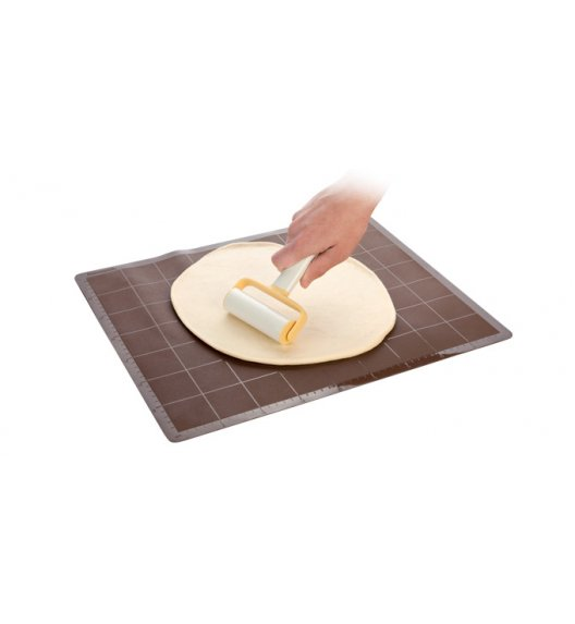 TESCOMA DELICIA Szeroki wałek do ciasta z rączką / tworzywo sztuczne VIDEO