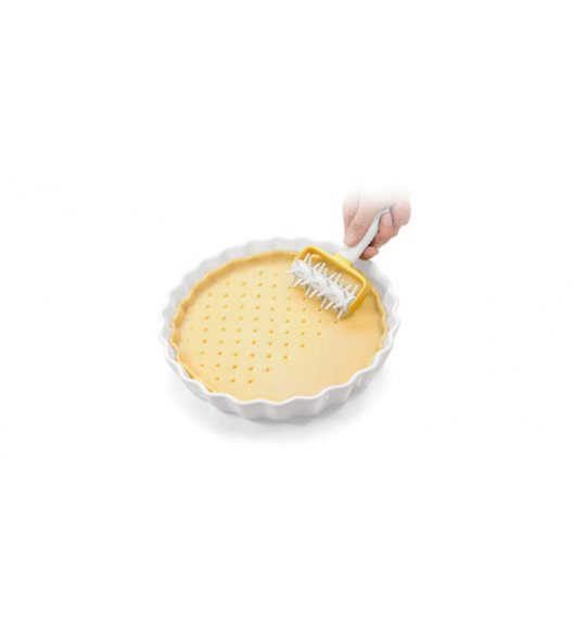 TESCOMA DELICIA Wałek do dziurkowania ciasta 11 cm / tworzywo sztuczne VIDEO