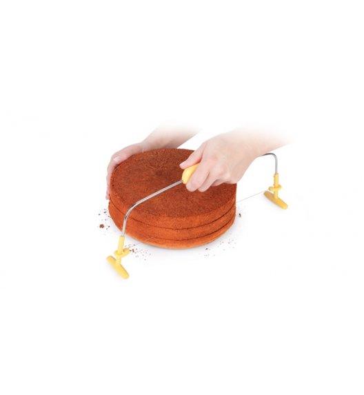 TESCOMA DELICIA nóż strunowy do tortów. Średnica 30 cm. Zobacz film.