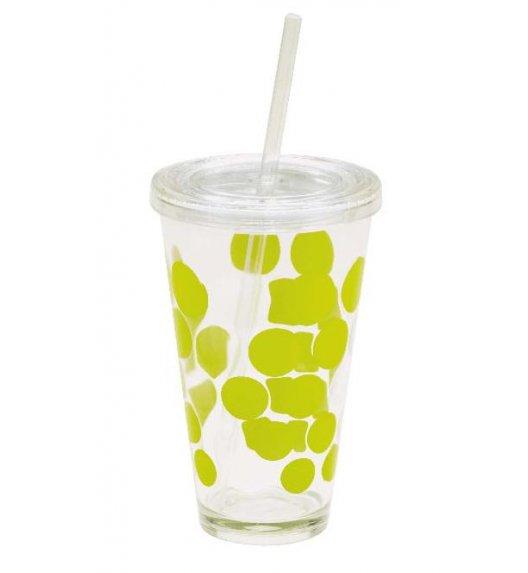 ZAK! DESIGNS Kubek na napoje z pokrywką i słomką, 570 ml, zielony /Btrzy
