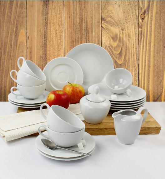 LUBIANA TIAGO Serwis kawowy porcelana 6 osób / 20 elementów