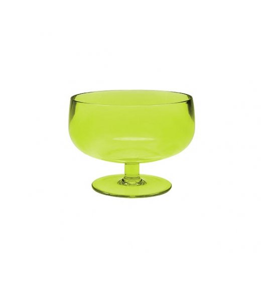ZAK! DESIGNS Puchar do serwowania lodów i deserów, imitujący grube szkło, zielony /Btrzy