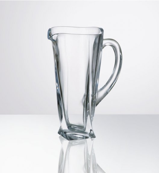BOHEMIA QUADRO Dzbanek 1,1 L w najwyższej jakości szkła kryształowego -  CR9A500