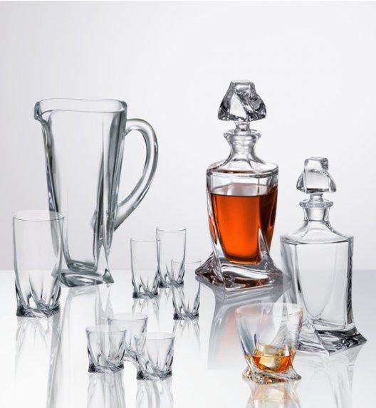 BOHEMIA QUADRO Komplet kieliszków i szklanek cała kolekcja / 27 elementów / szkło kryształowe