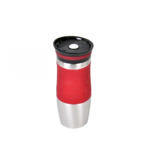 ODELO Czerwony kubek termiczny 380 ml / stal nierdzewna / OD1218