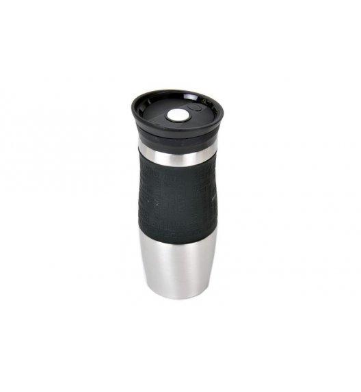 ODELO Czarny kubek termiczny 380 ml / stal nierdzewna / OD1218