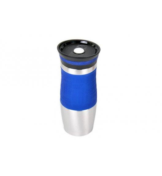ODELO Niebieski kubek termiczny 380 ml / stal nierdzewna / OD1218