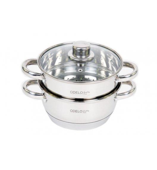 ODELO PRESTIGE Garnek do gotowania na parze 2,5 L / Stal nierdzewna / 3 elementy / OD1101