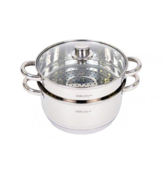 ODELO PRESTIGE Garnek do gotowania na parze 4,5 L / Stal nierdzewna / 3 elementy / OD1103