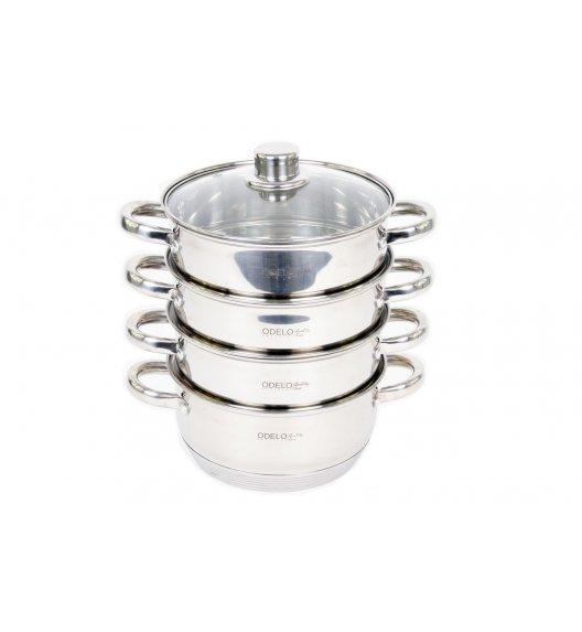 ODELO PRESTIGE Garnek do gotowania na parze 1,5 L / Stal nierdzewna / 5 elementów / OD1108