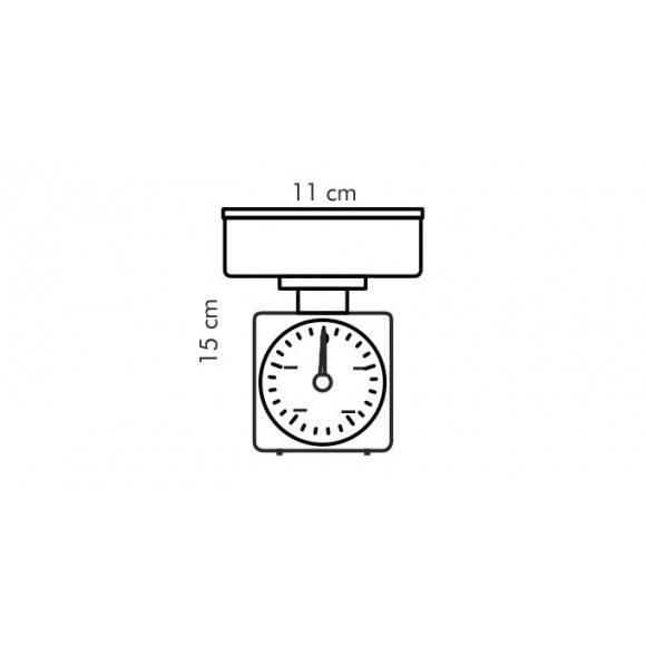 TESCOMA ACCURA Waga kuchenna 0,5 kg / 5 g 634520.00