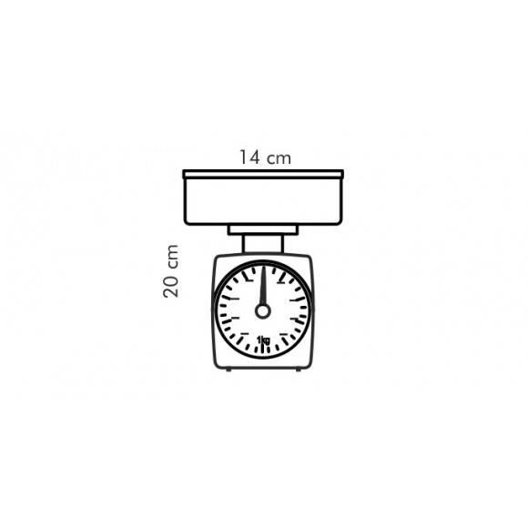 TESCOMA ACCURA Waga kuchenna 2,0 kg / 20 g 634522.00
