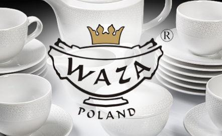 WAZA - polska porcelana zdobiona