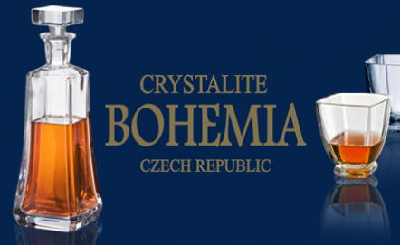 Bohemia - czeski kryształ, komplety do whisky i nie tylko
